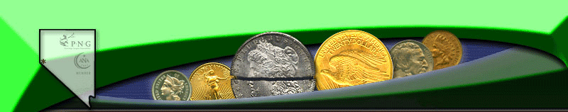Northern Nevada Coin, top menu