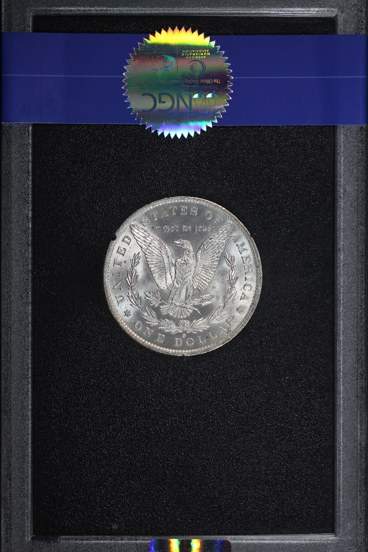Reverse of 1884-O GSA Morgan Dollar NGC MS-64
