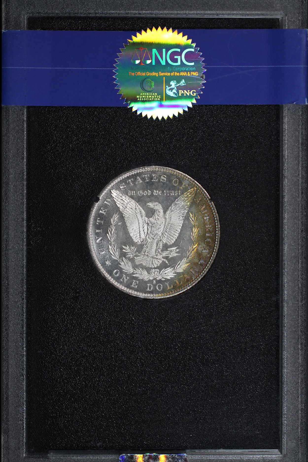 Reverse of 1879-S GSA Morgan Dollar NGC MS-65